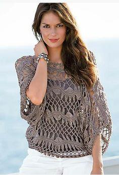 Crochet Dress Full Pattern and Tutorial - Craft & Patterns Hairpin Lace Patterns, Hairpin Lace Crochet, Crochet Tunic, Crochet Clothes, Knit Crochet, Broomstick Lace, Mode Crochet, Diy Mode, Crochet Woman