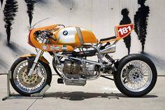 BMW Cafe Racer, bike-exif: If, like us, you shed a tear when. Bike Bmw, Cafe Bike, Cool Motorcycles, Vintage Motorcycles, Bmw Cafe Racer, Cafe Racer Motorcycle, Cafe Racers, Classic Motorcycle, Motorcycle News