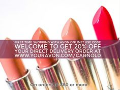 New Customers can use code WELCOME to take 20% off orders of $50 or more