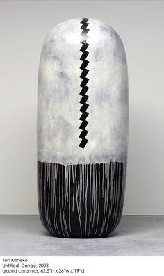Jun Kaneko - glazed caremic