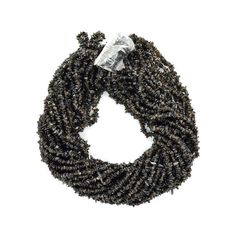 1 Strand  Smoky Chip Beads line  Natural chip by DevmuktiJewels