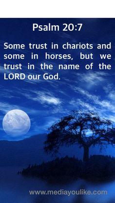 Psalms 20:7