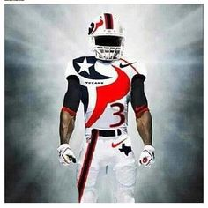 Texans fan Justin Robinson sent us this image of what could be one of the coolest uniforms, depending on your preference, of course. Florida State Football, Houston Texans Football, Nfl Football, Football Season, American Football, Seminole Football, Football Memes, Houston Astros, College Football Uniforms