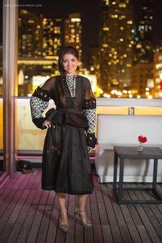 #Ukrainian #style  #Ukrainian #spirit  #дизайнерка #ОксанаКараванська предаставить на #Ukrainian #Chicago #Fashion #Show вишиванки-кутюр...