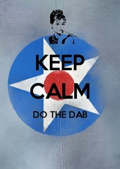 KEEP CALM do the dab