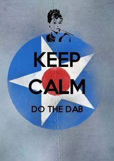 KEEP CALM do the dab