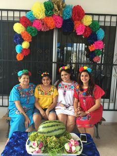 Mi fiesta estilo Frida Kahlo