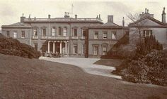 Rear of Baron Hill (Main entrance) in about 1920
