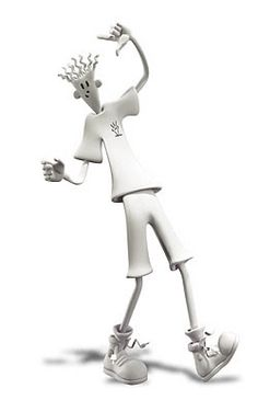 Fido Dido, The Soda Mascot '7UP', 3D