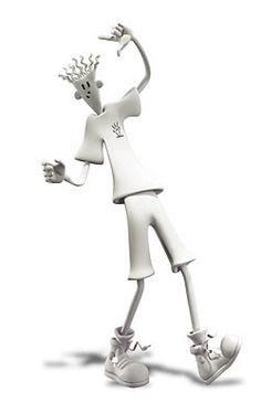 Fido Dido, The Soda Mascot '7UP', 3D