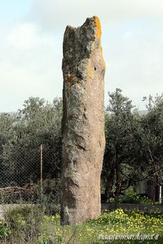 villaperuccio, menhir luxia arrabiosa