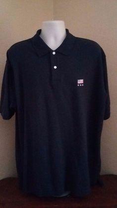 CROFT AND BARROW Mens 100% Cotton Blue Short Sleeve Polo Golf Shirt Size XL #CroftBarrow #PoloRugby