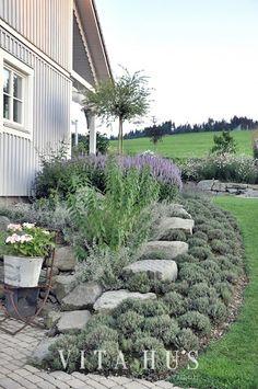 Schwedenhaus gartengestaltung  Gartengestaltung Peter Reinisch | Kundengarten in Hanglage ...