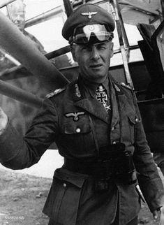 Generalfeldmarschall Erwin J. Rommel.
