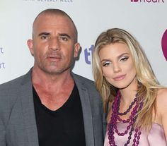 AnnaLynne McCord and Dominic Purcell - David Livingston/Getty Images