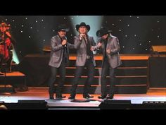2009 THE TEXAS TENORS chanteurs d'opéra crossover - #1 audition - Alabama Mountain Music 17 sec