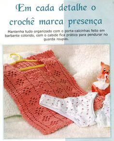andrea croche: Porta calcinha em croche com gráfico