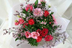 Wedding Flowers -Thank You Bouquet - http://herbigday.net/wedding-flowers-thank-you-bouquet/