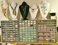 Mixed-Media Jewelry Artists: Sneaking a Peek at Their Studio Spaces - Jewelry Making Daily - Jewelry Making Daily