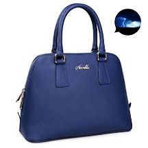 Longchamp sale Kick off the holiday season with a little sparkle and a discount. Today only, enjoy 86% off these women's Classics as part of Giving. Leather Purses, Leather Handbags, Leather Bag, Shoulder Handbags, Shoulder Bags, Womens Tote Bags, Zipper, Blue Bags, Blue Gift