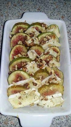 Sajttal sült füge ♡ Zucchini, Vegetables, Vegetable Recipes, Veggies