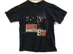 Vintage Bruce Springsteen Tour Shirt - Medium - E Street Band - 90s Tour Tee - Vintage Band Shirt - Rock Shirt - Classic Rock - T Shirt - by BLACKMAGIKA on Etsy