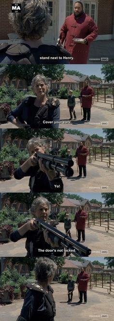 Calm the heck down, Carol, you bad mamma jamma!