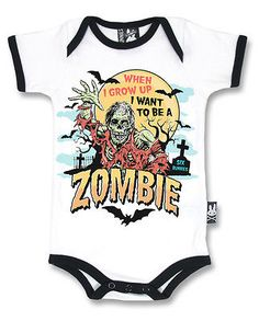 Clothes Cute Life - Six Bunnies zombie vest alternative baby clothes goth rock punk metal horror. Punk Rock Baby, Ropa Punk Rock, Punk Baby Girl, Baby Outfits, Kids Outfits, Emo Outfits, Baby Bats, Baby Bunnies, Gothic Rock