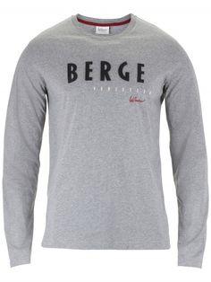 Langarmshirt Berge versetzen grau Mountain Designs, Outfit, Sweatshirts, Tops, Sweaters, Fashion, Move Mountains, Script Logo, Dirndl
