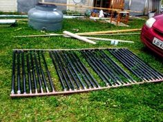 Solar water heater step by step