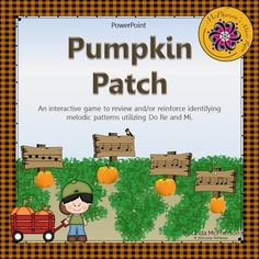 Students will love this interactive pumpkin patch while aurally identifying Do Re Mi patterns.  #musiceducation  #musicteacher