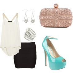 Night out on the town, created by amriella on Polyvore
