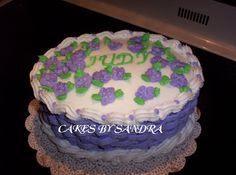 Basketweave+Birthday+Cake+-+This+is+a+chocolate+cake+with+strawberry+filling.+BCI+and+royal+iciing+flowers.+I+made+this+for+a+lady+that+works+with+my+mother.