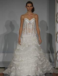 pnina tornai dress from say yes to the dress season 1 episode 10 | Pnina Tornai - Beading & Bows Galore