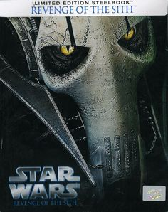 Star Wars: Episode III - Revenge of the Sith Steelbook [Blu-ray] Brand New