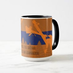 OPERATING ENGINEER CRANE SHOVEL WOODS VINTAGE ART MUG - construction business diy customize personalize