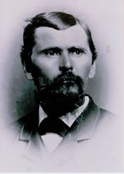 Hiram Hollingsworth (September 8, 1838 - May 24, 1905).  This rootsweb freepages website provides an excellent outline of the descent [Benjamin, Isaiah, Valentine, James, Valentine, Valentine, Henry].