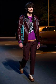 Stuart Vevers unveiled his Pre-Fall 2017 collection for Coach, off schedule in New York City. Model: elias de poot