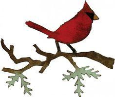 Sizzix Bigz Die - Tim Holtz - Christmas Cardinal