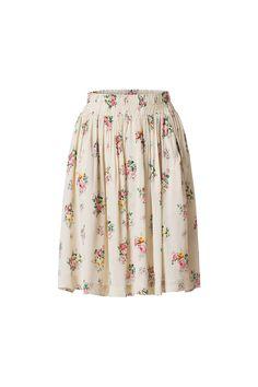 112009cbaff65 Ganni Almond Blossom Skirt Kleider Für Frauen