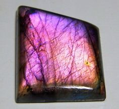161 CT HUGE NATURAL RARE PURPLE FIRE WORLD TOP LABRADORITE FANCY CABOCHON GEMS  #TREASUREGEMS14