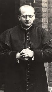 Blessed Bernhard Lichtenberg was a martyr of the Second World War. Born in1875, he was ordained a priest for the Diocese of Berlin, Germany. He served in the Cathedral of Berlin and was an outspoken critic of the Nazis and their anti-Semitic campaign.    He organized protests outside concentration camps, led public prayers for the Jews, and filed co...