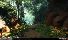 ArtStation - Uncharted 4 River, Jeremy Huxley