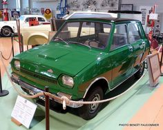 1963 SIMCA 936 Prototype using the engine of the Simca 1000 but FWD and transversely mounted. Apparently about the size of an Austin Mini.