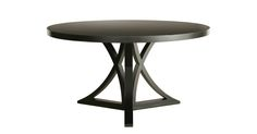 """Floyd Round Dining Table (54""""D) (base 43""""D) from Redford House"""