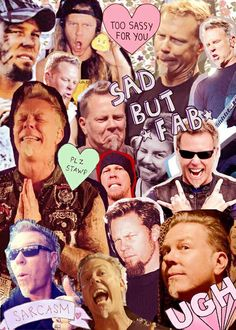 Uploaded by Find images and videos about metallica and James Hetfield on We Heart It - the app to get lost in what you love. Metallica Funny, Great Comebacks, James Hetfield, Back Off, Cool Bands, Heavy Metal, We Heart It, Funny Pictures, Memes