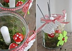 Guest presents on New Year's Eve Diy Silvester, Party Silvester, New Years Decorations, Table Decorations, Christmas And New Year, Christmas Bulbs, Diy Love, Beautiful Soup, New Years Eve Party