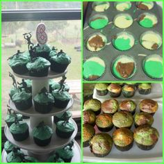 camouflage party | Camo Cupcakes! Army Birthday Party | party