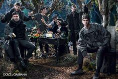 Dolce & Gabbana Men Fall/Winter 2014 Advertising Campaign image dolce and gabbana winter 2015 men advertising campaign 041 800x534