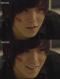 """TOP as the assassin, """"Vick"""" in Iris. With his cute self hehehe"""